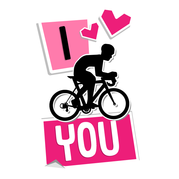 CycList Valentines messages sticker-6