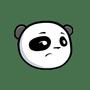 Pandamoji - Emoji Panda Stickers for iMessage messages sticker-4