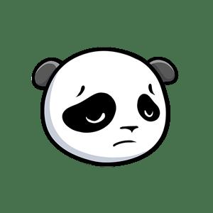 Pandamoji - Emoji Panda Stickers for iMessage messages sticker-6