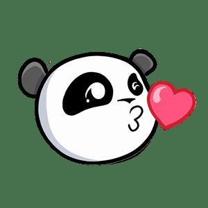 Pandamoji - Emoji Panda Stickers for iMessage messages sticker-5