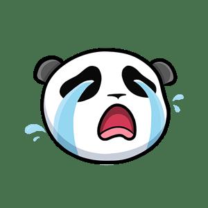 Pandamoji - Emoji Panda Stickers for iMessage messages sticker-2