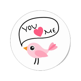 Love-Bird Stickers Pack For iMessage messages sticker-11