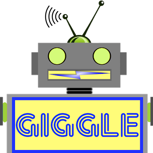 LaughBot: Animated Robot Stickers messages sticker-5