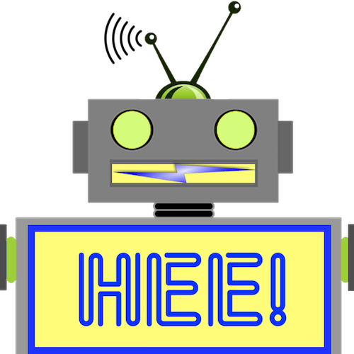 LaughBot: Animated Robot Stickers messages sticker-10