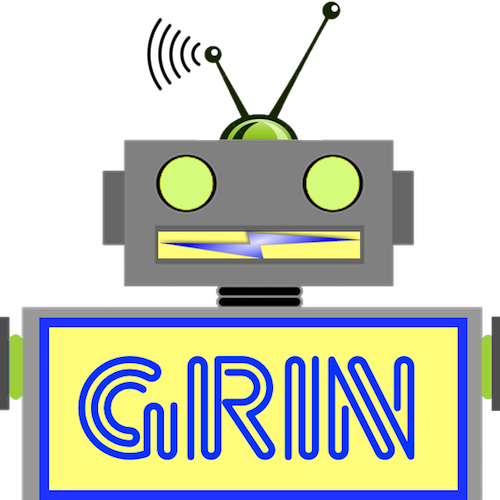 LaughBot: Animated Robot Stickers messages sticker-6