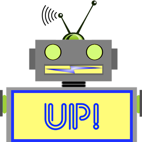 LaughBot: Animated Robot Stickers messages sticker-4