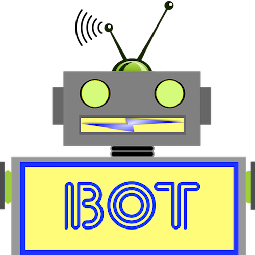 LaughBot: Animated Robot Stickers messages sticker-0