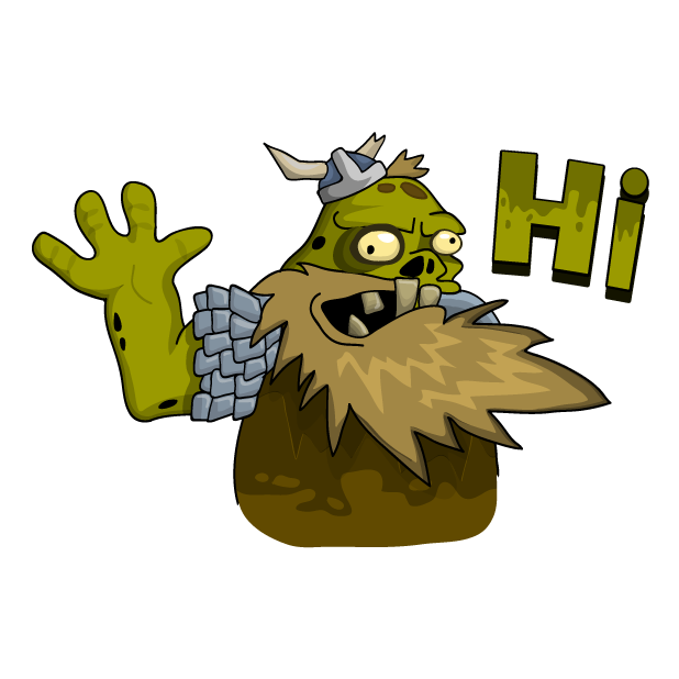 Zombie Smash! Time Travel messages sticker-1