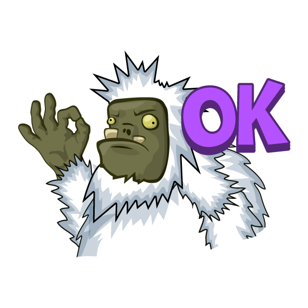 Zombie Smash! Time Travel messages sticker-4