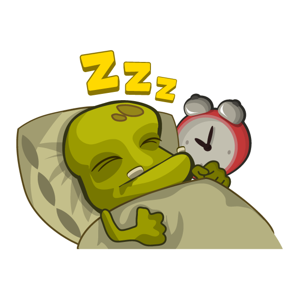Zombie Smash! Time Travel messages sticker-6