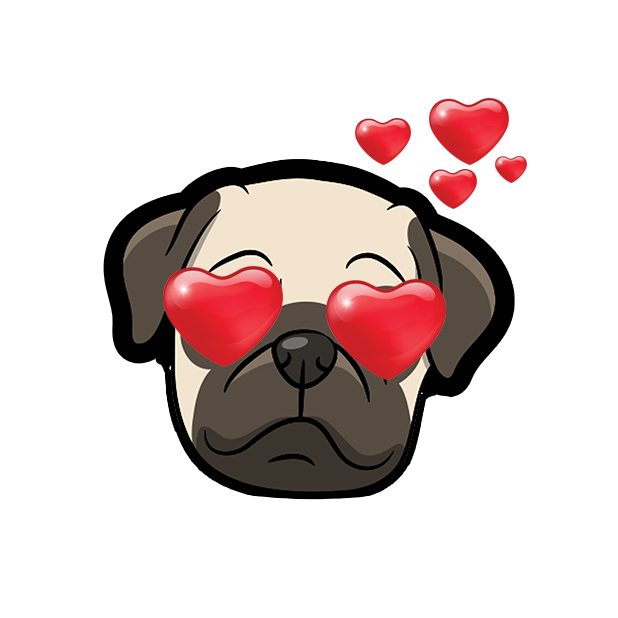 PugMoji - Pug Emoji & Sticker messages sticker-1