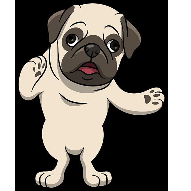 PugMoji - Pug Emoji & Sticker messages sticker-11