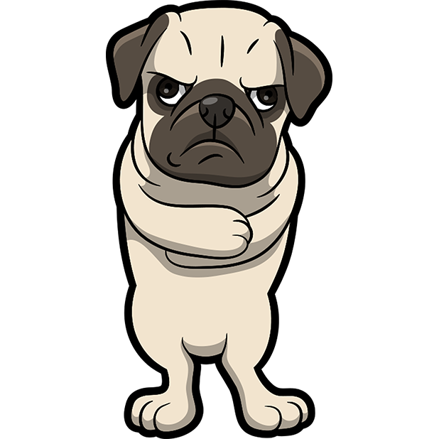 PugMoji - Pug Emoji & Sticker messages sticker-10