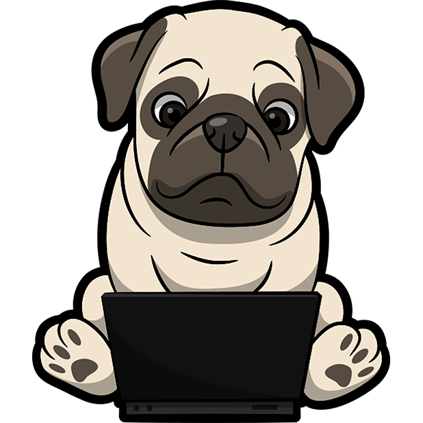 PugMoji - Pug Emoji & Sticker messages sticker-9
