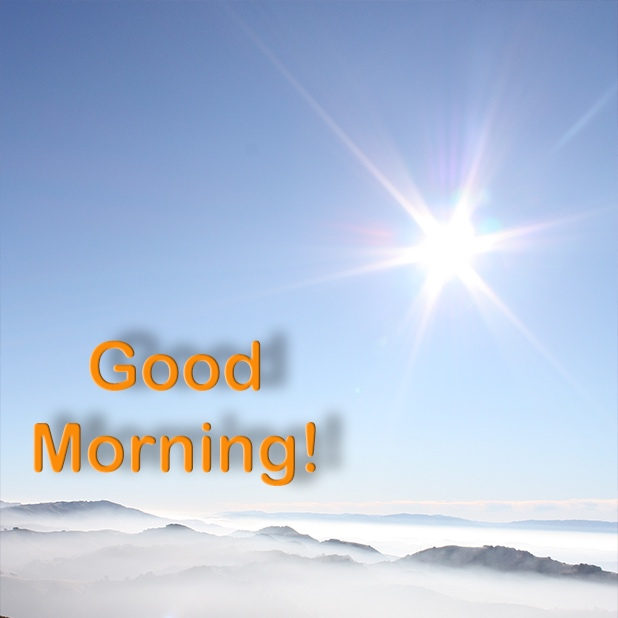 Good Morning-! messages sticker-1