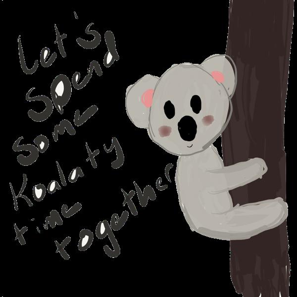 Koalaty Love Puns messages sticker-0