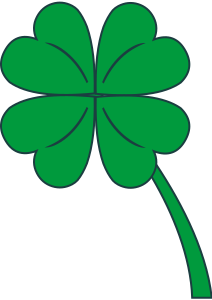 St Patrick's Day Stickers - Clover messages sticker-10