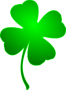 St Patrick's Day Stickers - Clover messages sticker-5