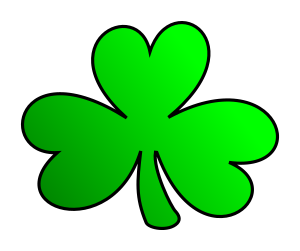 St Patrick's Day Stickers - Clover messages sticker-8