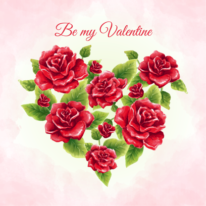 Be my Valentine - stickers messages sticker-3