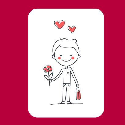 Be my Valentine - stickers messages sticker-7