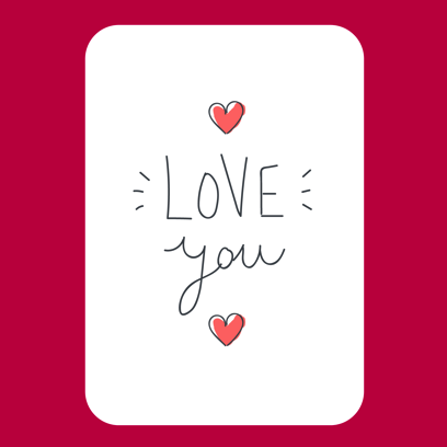 Be my Valentine - stickers messages sticker-5
