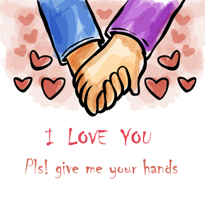 Be my Valentine - stickers messages sticker-1