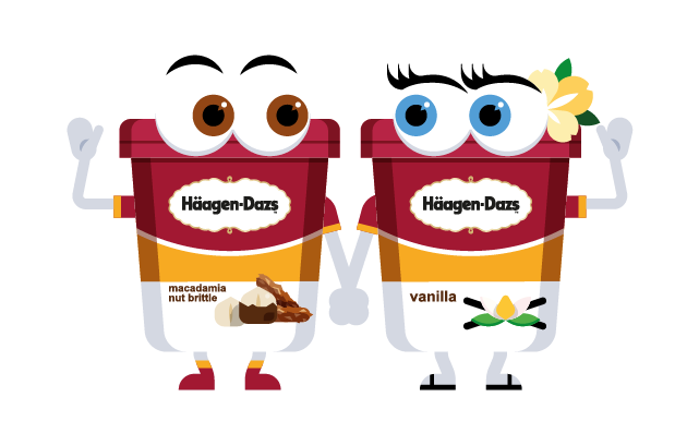 Häagen-Dazs-Emojis messages sticker-9