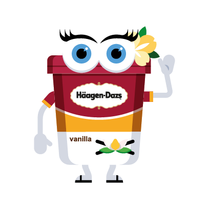 Häagen-Dazs-Emojis messages sticker-7