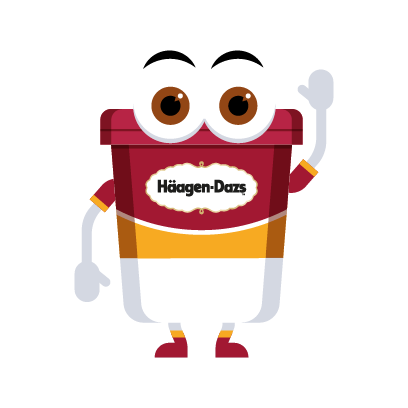 Häagen-Dazs-Emojis messages sticker-3