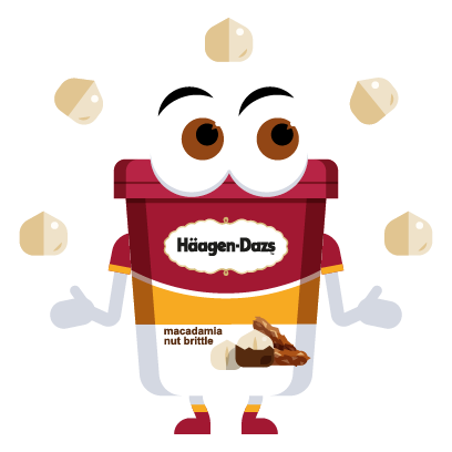 Häagen-Dazs-Emojis messages sticker-6