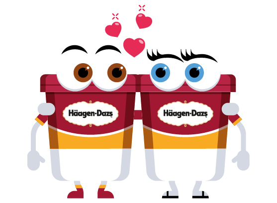 Häagen-Dazs-Emojis messages sticker-10