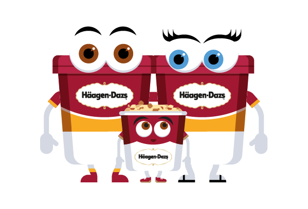 Häagen-Dazs-Emojis messages sticker-11