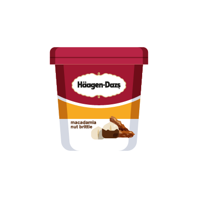 Häagen-Dazs-Emojis messages sticker-1