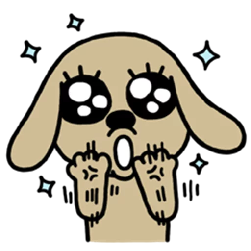 Chocolate Dog messages sticker-3