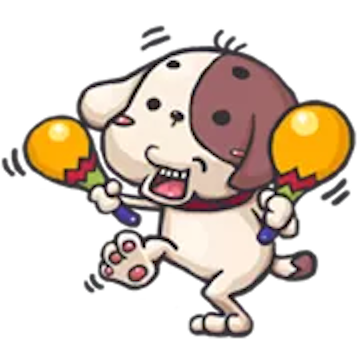 Milk and Chocolate Dog messages sticker-9