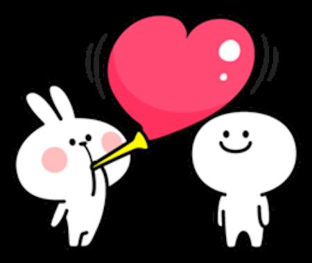 Cool Rabbit Love messages sticker-0