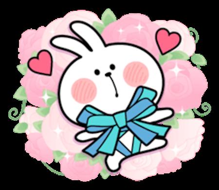 Cool Rabbit Love messages sticker-10