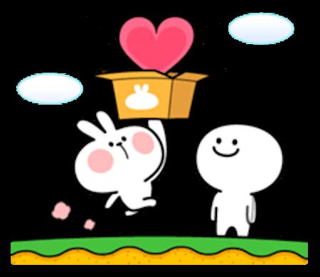 Cool Rabbit Love messages sticker-6