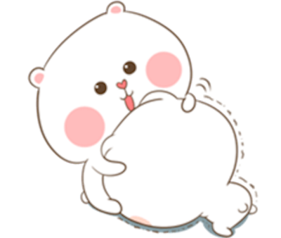 Bear and Rabbit Love messages sticker-5