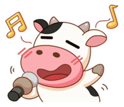 Milk Cow Sticker messages sticker-10