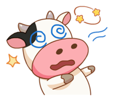 Milk Cow Sticker messages sticker-6