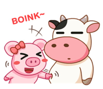 Milk Cow Sticker messages sticker-8