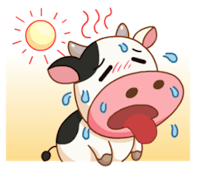 Milk Cow Sticker messages sticker-7
