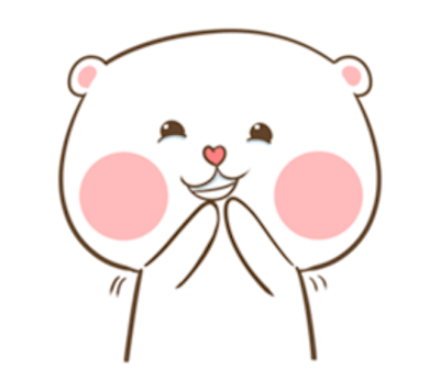 Lovely Fluffy Bear messages sticker-9