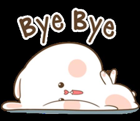 Fluffy Rabbit Love messages sticker-5