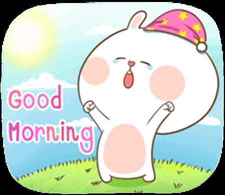 Fluffy Rabbit Love messages sticker-2