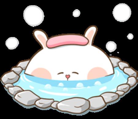 Fluffy Rabbit Love messages sticker-11