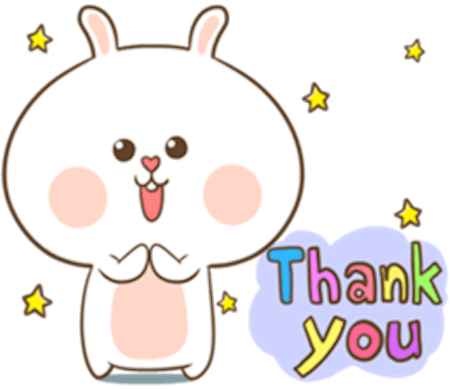 Fluffy Rabbit Love messages sticker-6