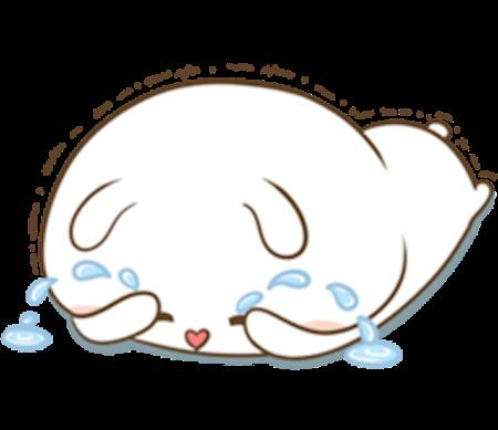 Fluffy Rabbit Love messages sticker-3